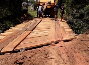 Construção de Ponte na Localidade de Chacrinha