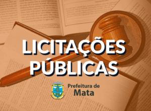 Prefeitura publica novamente licitação para pavimentação de ruas